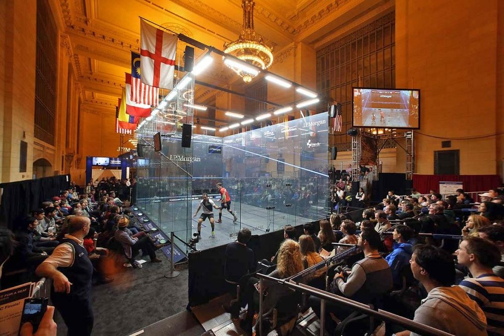 JP Morgan Tournament of Champions (Squash): Virtually all of the world's top-ranking squash players will compete for the coveted J.P. Morgan Tournament of Champions (ToC) title. Grand Central Terminal, 18-25 January, from $35.