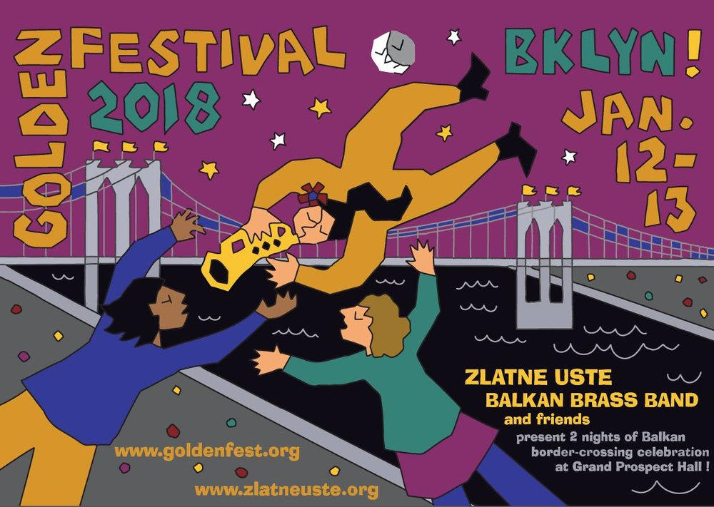Don't miss some Balkan Brass Bands and dancing in Brooklyn this weekend at the Golden Festival!