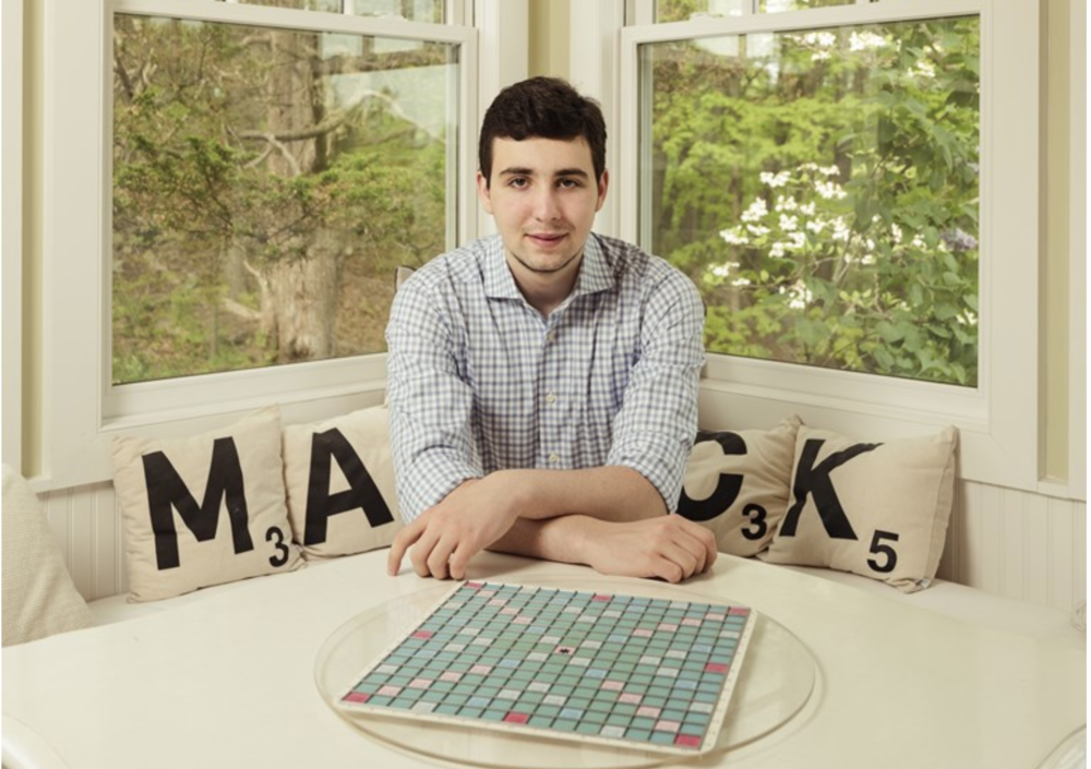 he calm before the score: Mack Meller at home in Bedford, New York.SOURCE  SASHA MASLOV FOR OZY