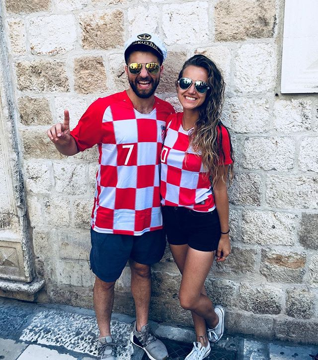 Dear Croatia, You stole our hearts ✌️🇭🇷❤️ Love,  Everybody except France