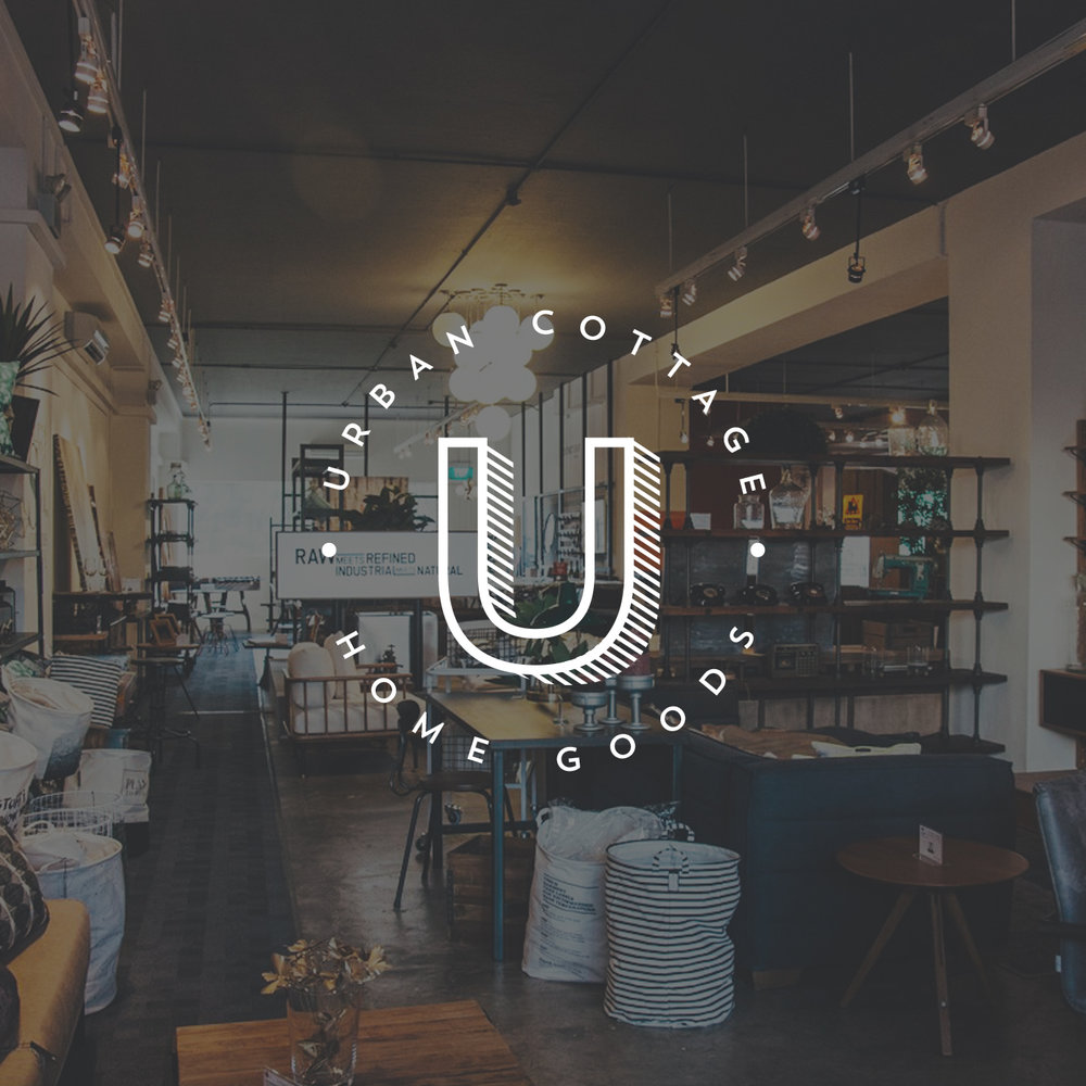 URBAN COTTAGE RE-BRAND & WEB DESIGN