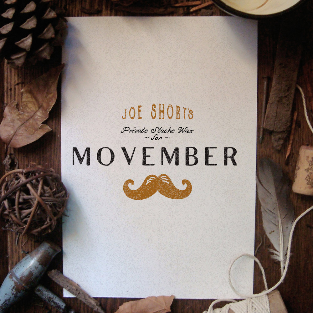 SHORT'S BREWERY  MOVEMBER PACKAGING