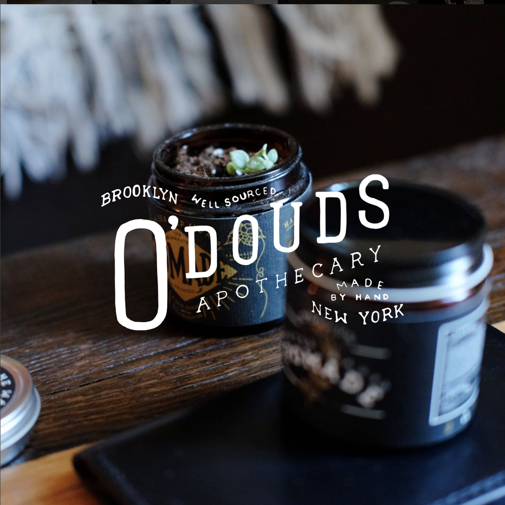 BREWMASTER'S POMADE COLLAB W/O'DOUDS  PACKAGING