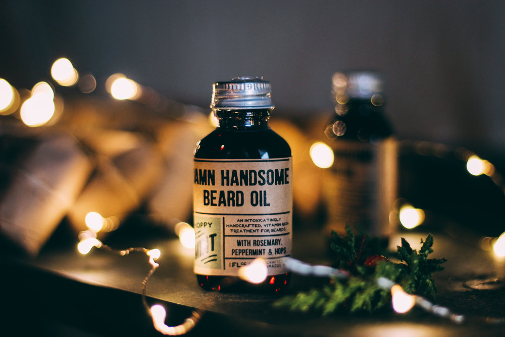 HOPPY MINT BEARD OIL