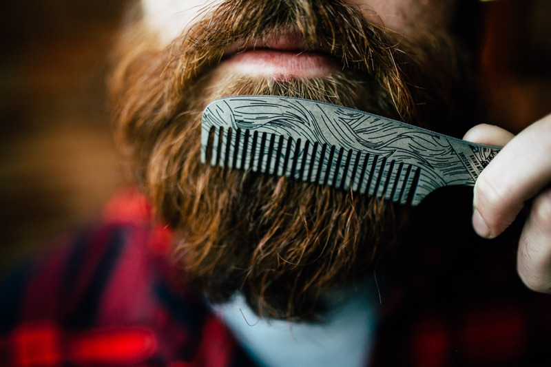BEARD COMB BOTTLE OPENER