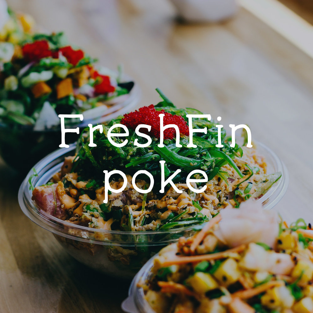 FRESH FIN POKE  PHOTOGRAPHY