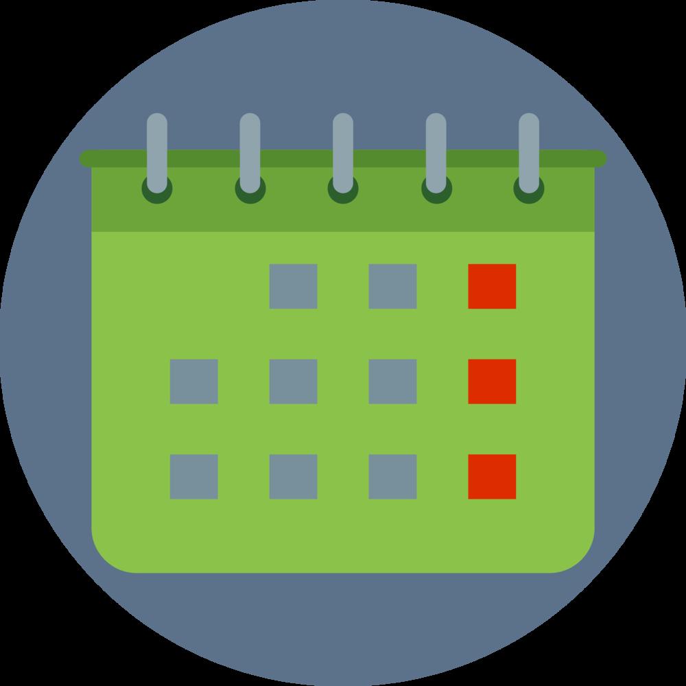 calendar after school program