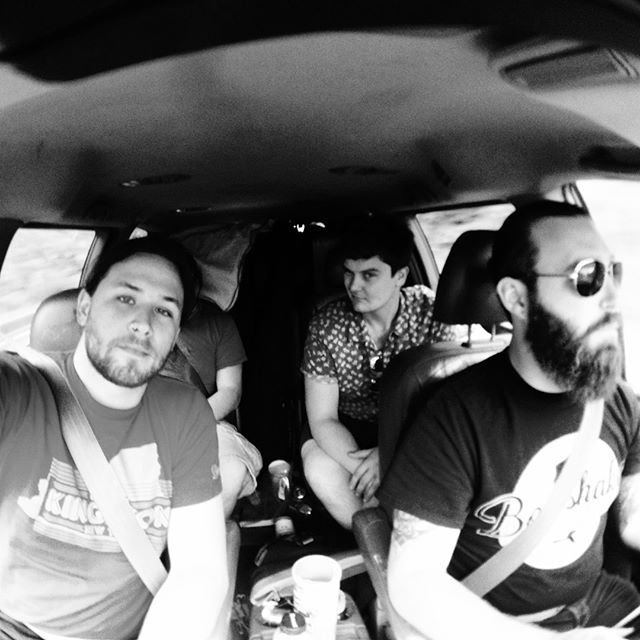 On the road 2015 #thegrapeandthegrain #throwback #boneshakerrecords #tbt #tgatg #ontheroad #tourlife