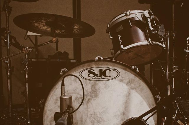 new music is coming #throwingsnakes #sjcdrums #appleheadrecording