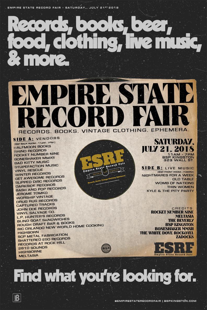 BONESHAKER MMXII at EMPIRE STATE RECORD FAIR