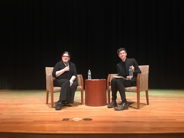 The incomparable Sarah Deer at William and Mary (November 2017)  I also had the honor of sharing the stage with Professor Deer for a portion of her public talk--around 400 people in attendance!--to ask her questions and engage in conversation about activism, decolonization, violence, and white pity. Her public talk and Q/A can be found  here .