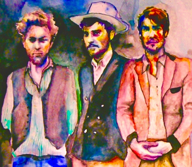 The Sons of Mumford & Sons 2011, watercolor