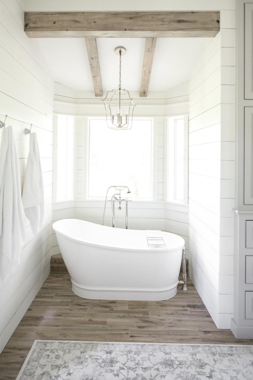 Classic Farmhouse Bathroom -
