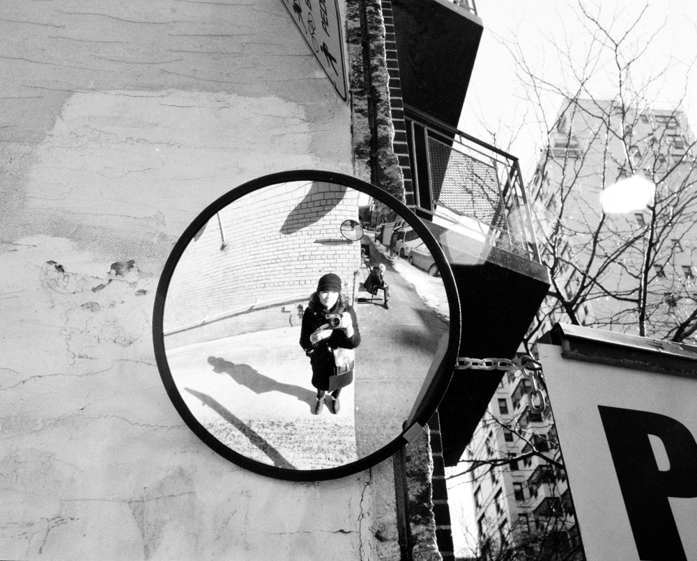 Self-Portrait on Street