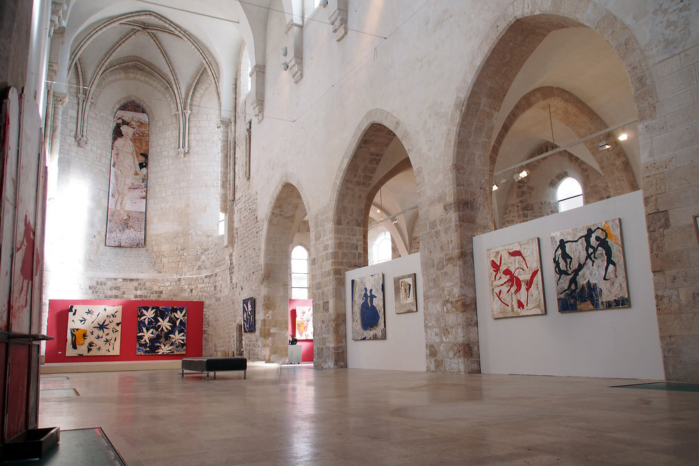 Pierre Marie Brisson's 2016 exhibition  at the Collegiale St Pierre le Puellier Museum  in Orléans, France. Our New York and San Francisco exhibitions feature many works from this collection.