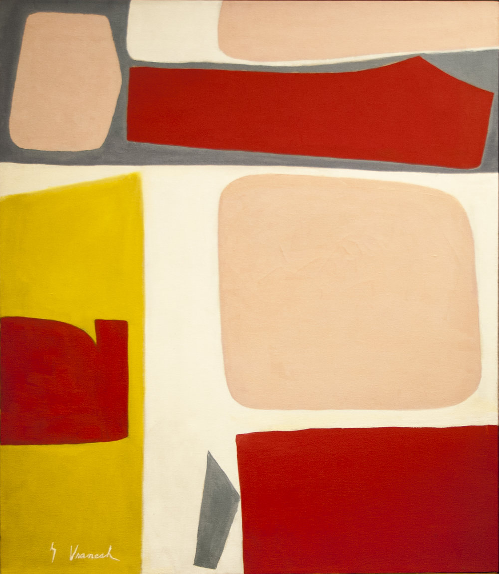 Calliope, Oil on canvas, 30 x 26 in, 1958