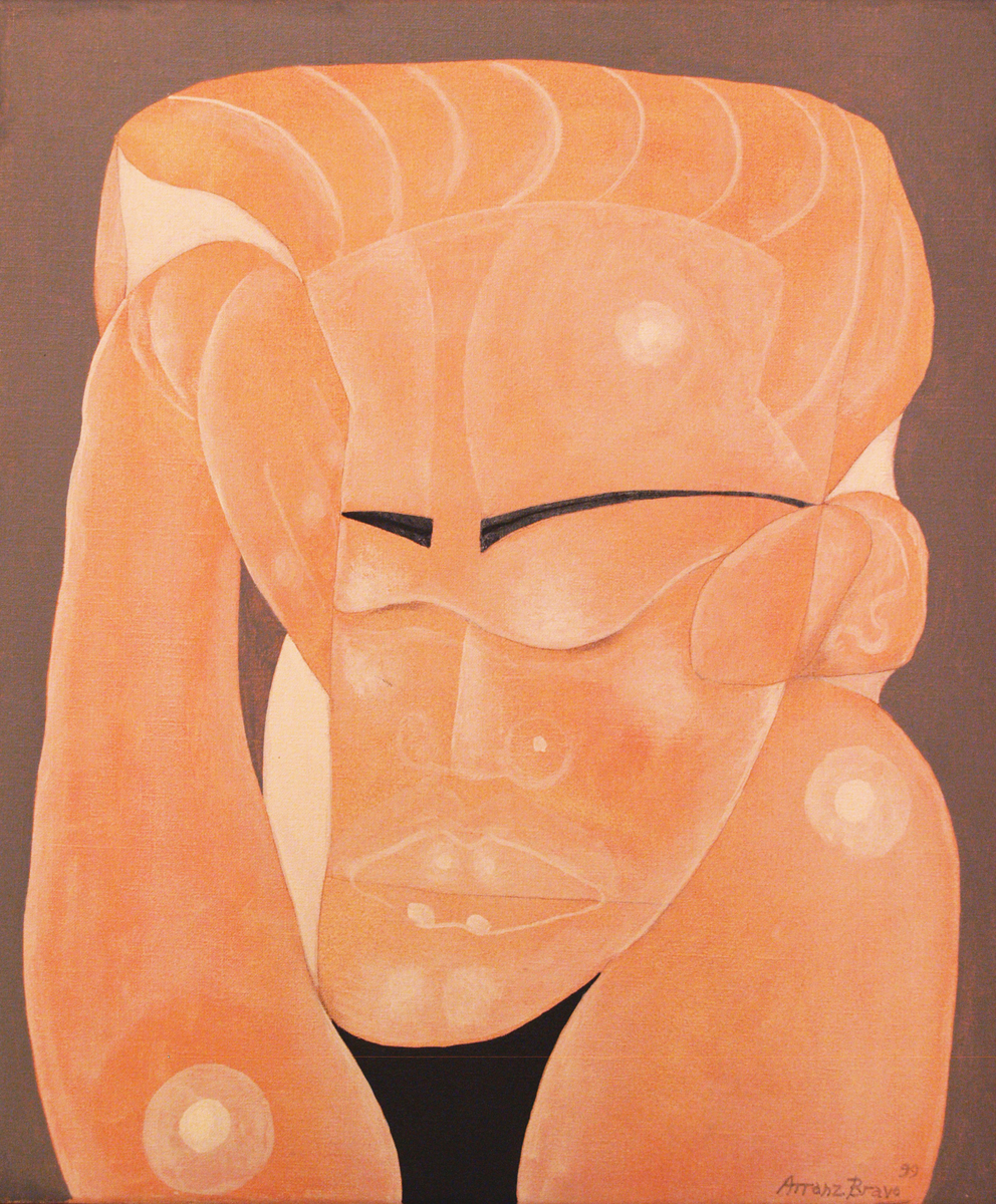 Big, oil on canvas, 21 x 18 in, 1999