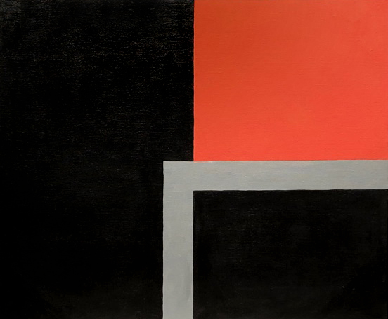Form Play, acrylic on canvas, 20 x 24 inches, 1987