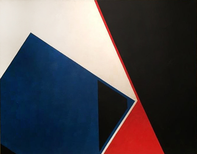 Passage, acrylic on canvas, 38 x 48 inches, 1965