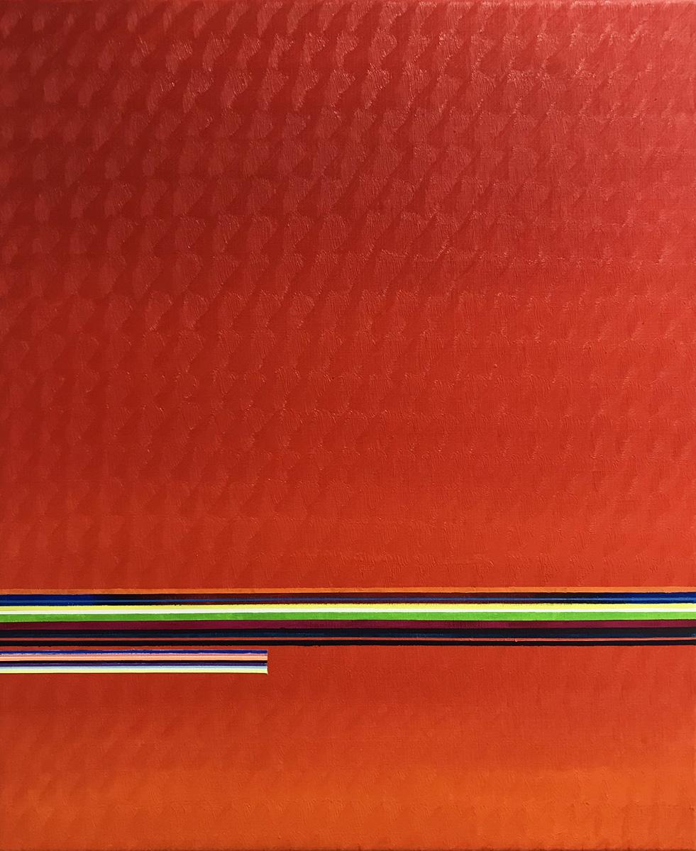 Paisatge de Juny 2, Oil on canvas, 25.5 x 21.2 in. (65 x 54 cm), 2018
