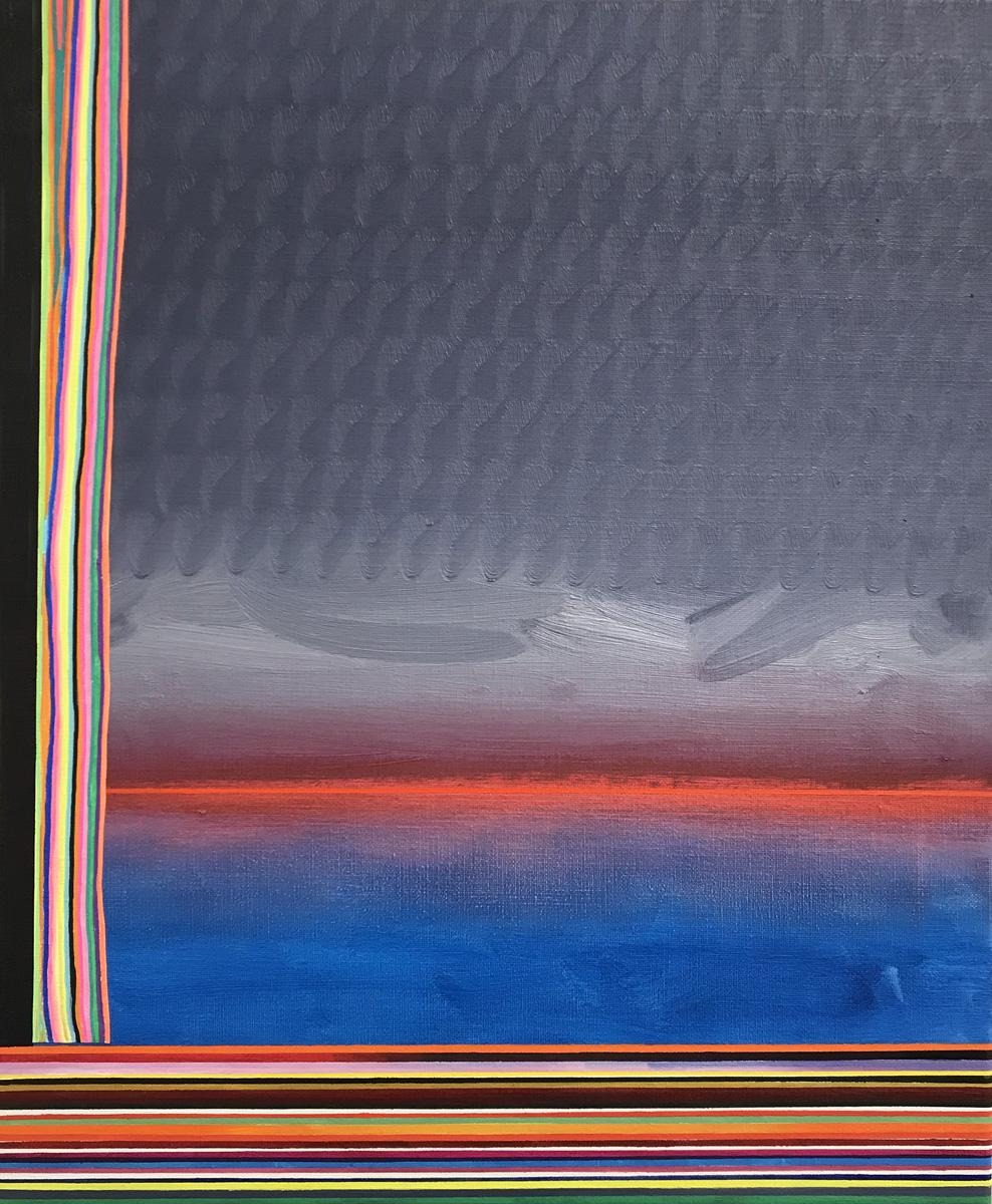 Paisatge de Juny 6, Oil on canvas, 25.5 x 21.2 in. (65 x 54 cm), 2018