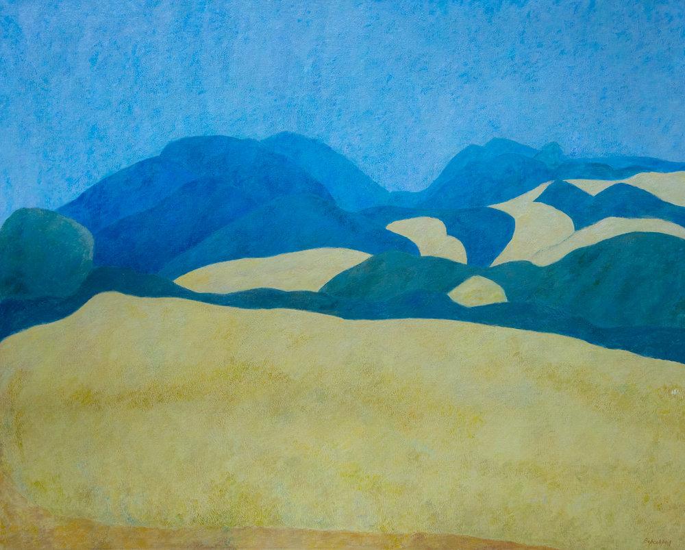 Une annéeàblé, oil on canvas, 51 x 63.7 in.(130 x 162 cm),1994
