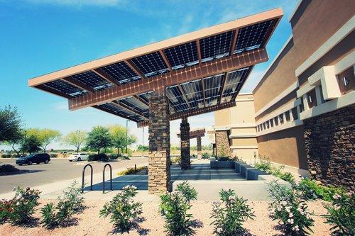 Parking Canopy - Aesthetics — Prism Solar