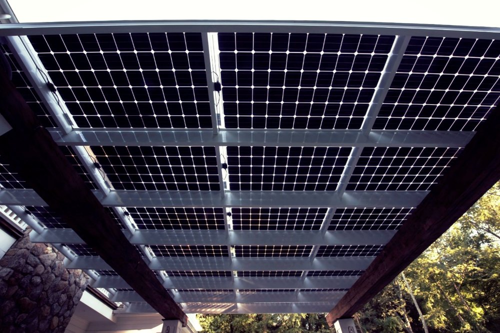 Solar Patio Close-up