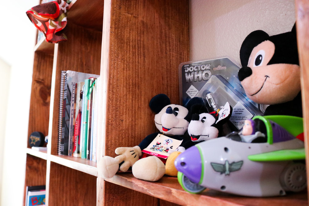 Mickey and Minnie have a home with Buzz Lightyear!