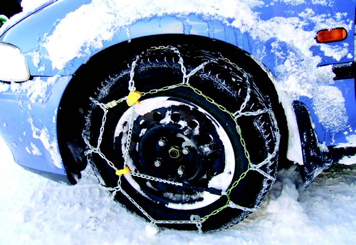 Check your snow chains.