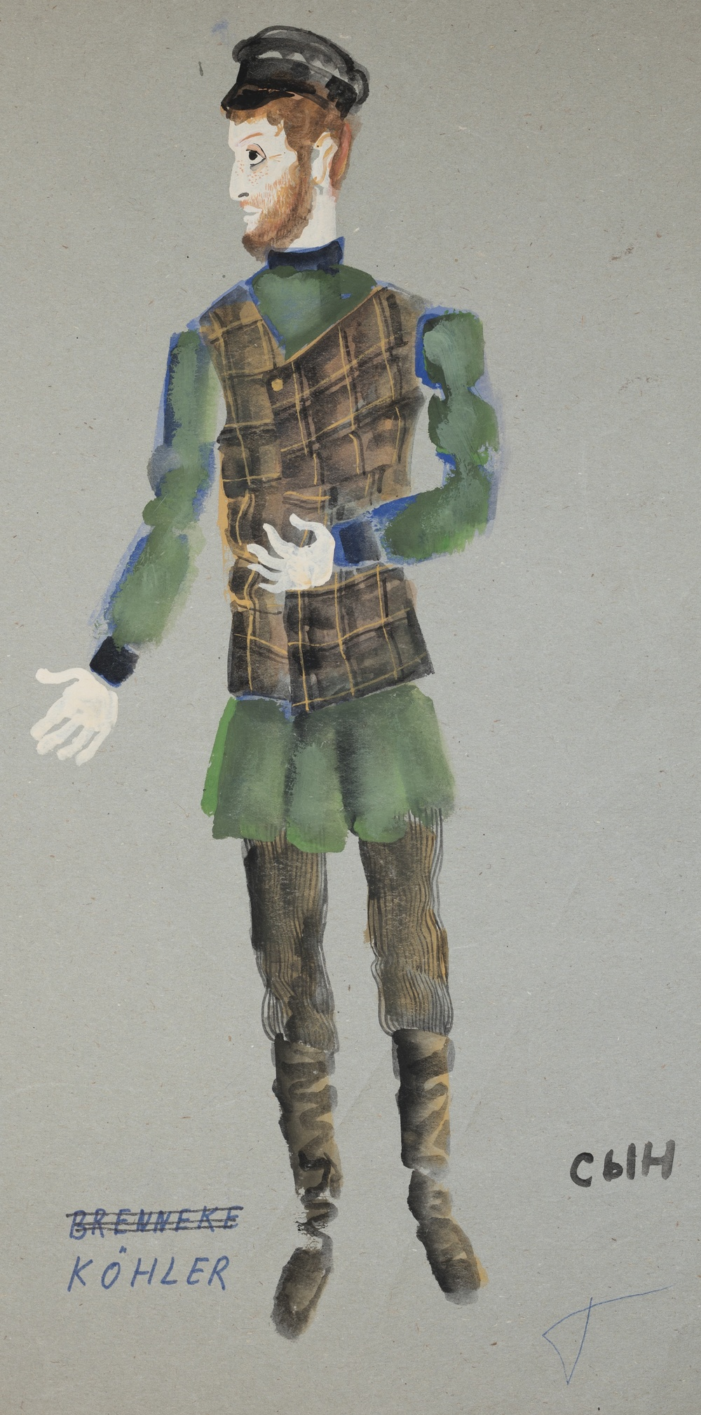Fiddler on the Roof  by Jerry Bock . Costume design. Komishe Oper, Berlin 1971