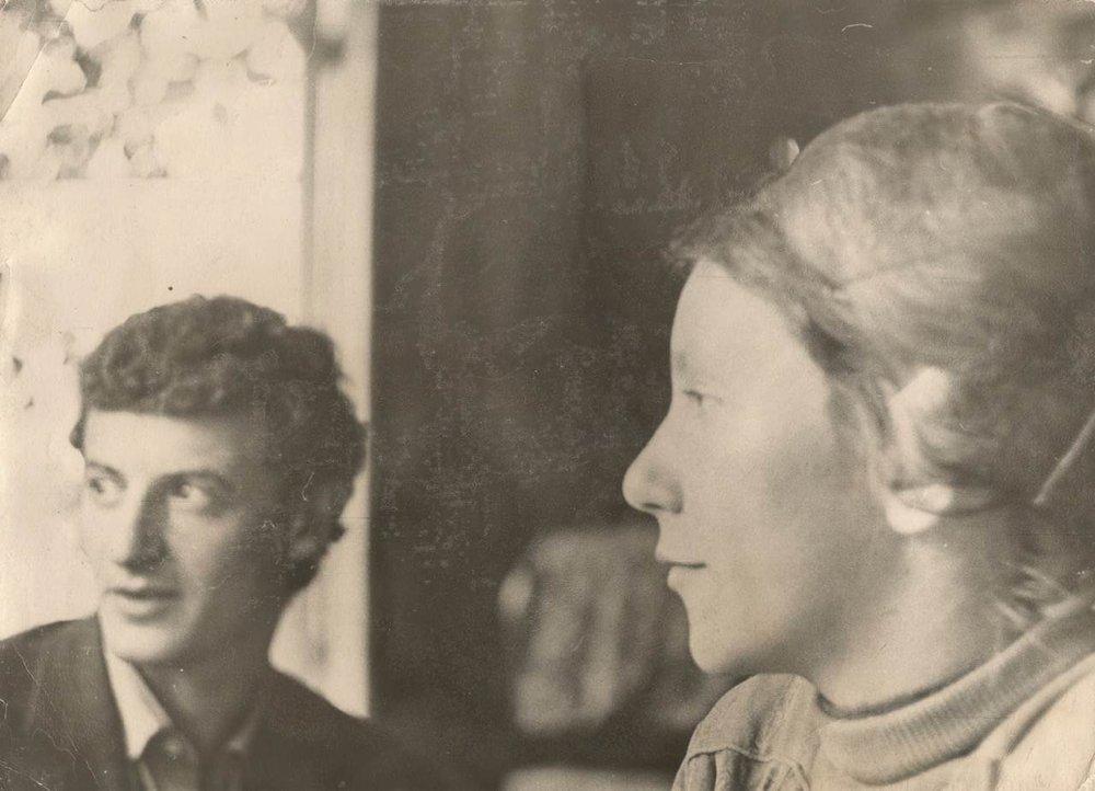 Valery Levental, Marina Sokolova Moscow 1966