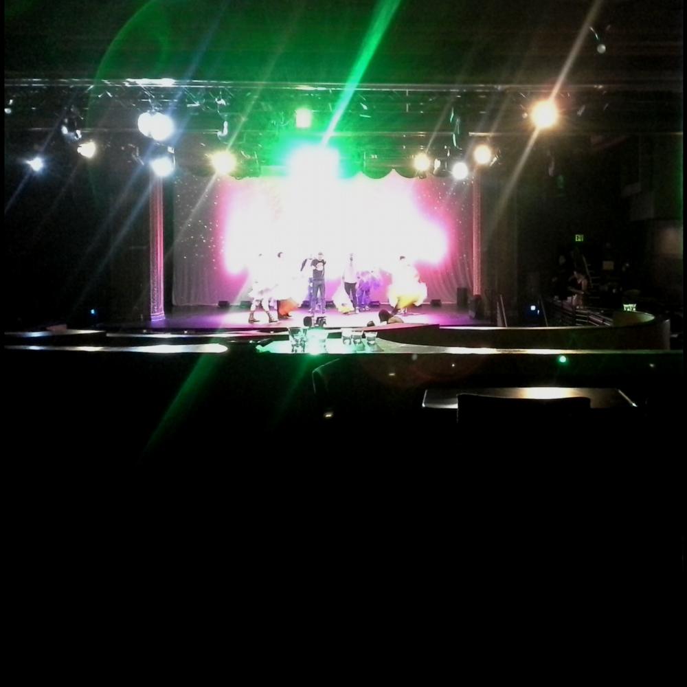 - backstage badassery