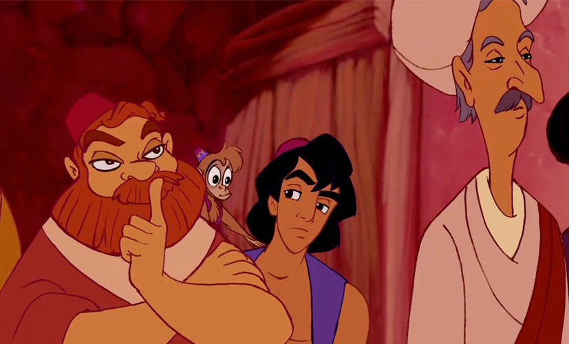 Ron Clements, Abu the monkey, Aladdin, John Musker