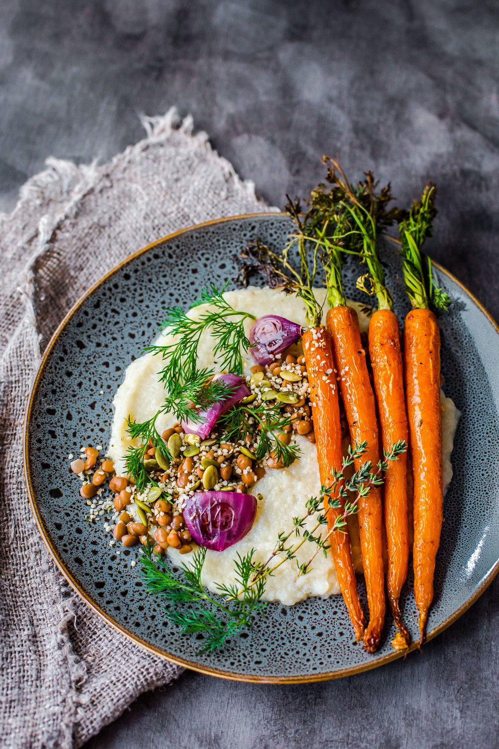 Cauliflower Mash + Honey-Roasted Carrots-2.jpg