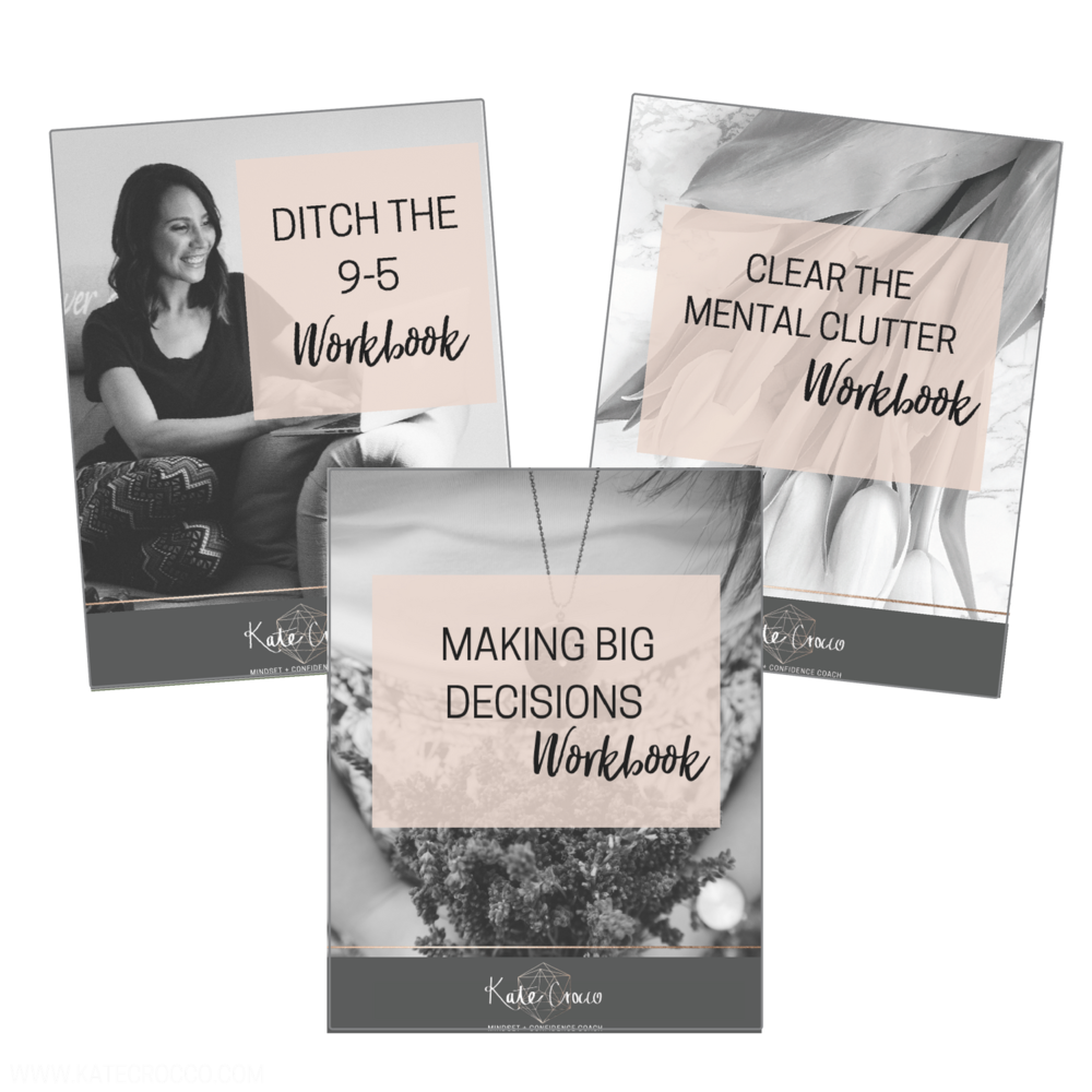 Includes workbooks to inspire you to take action and make those big THINGS happen, with step by step systems to take the stress out of decision making