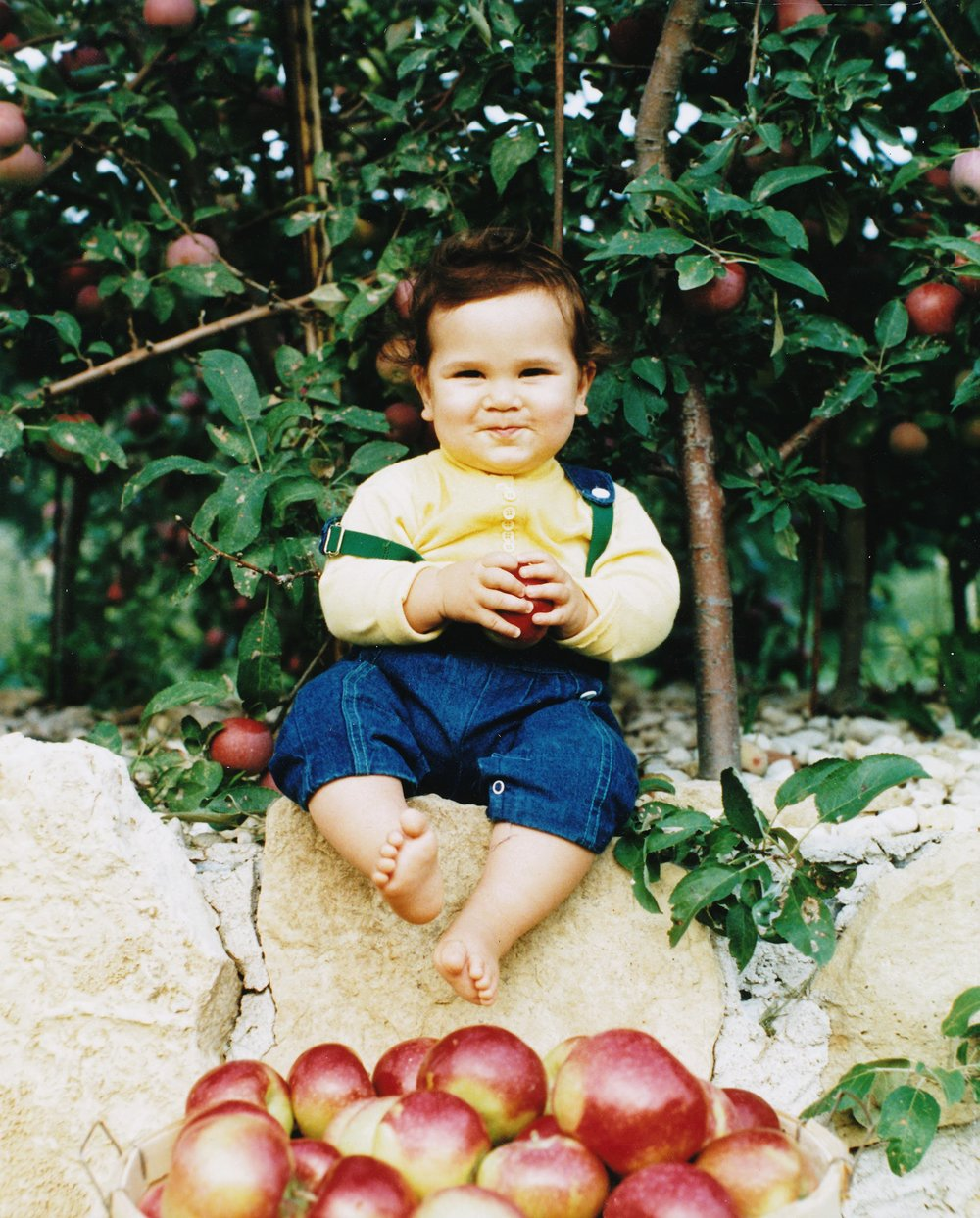 Drew Ten Eyck growing up on the Ten Eyck Orchard