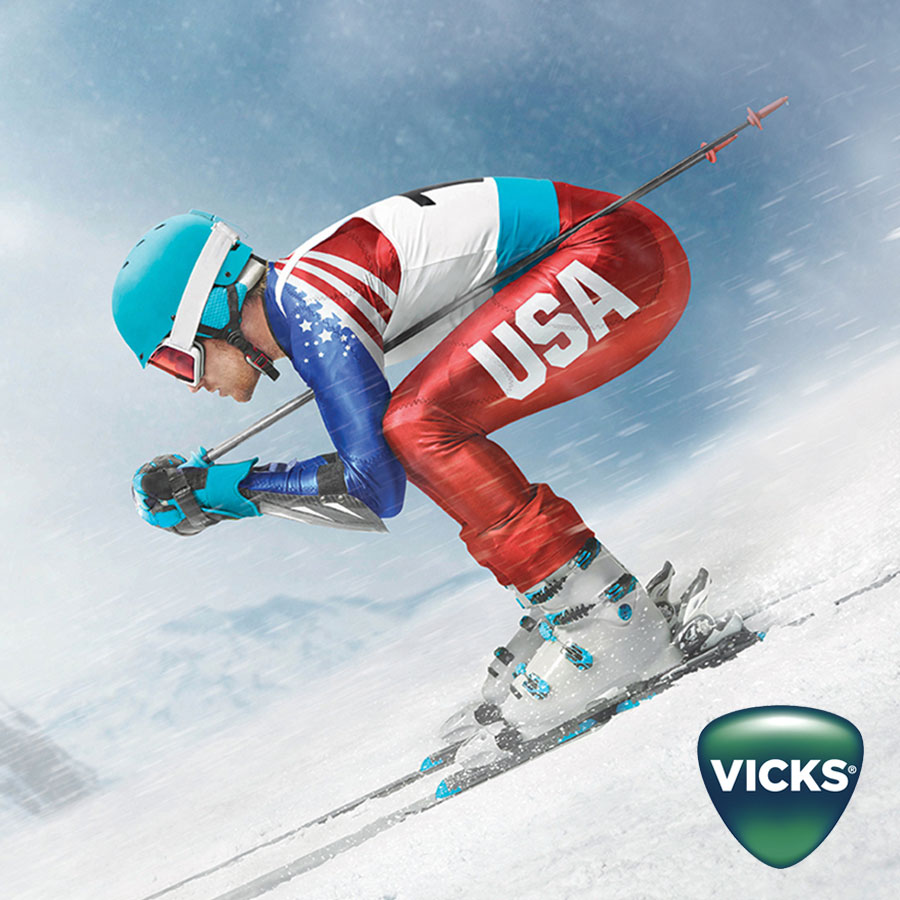 No Sick Days - Vicks Winter Olympics Campaign