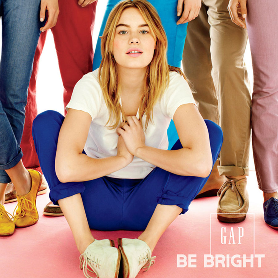 Be Bright - Gap Global Print Campaign