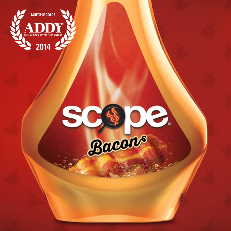 Scope Bacon - April Fools Integrated Campaign