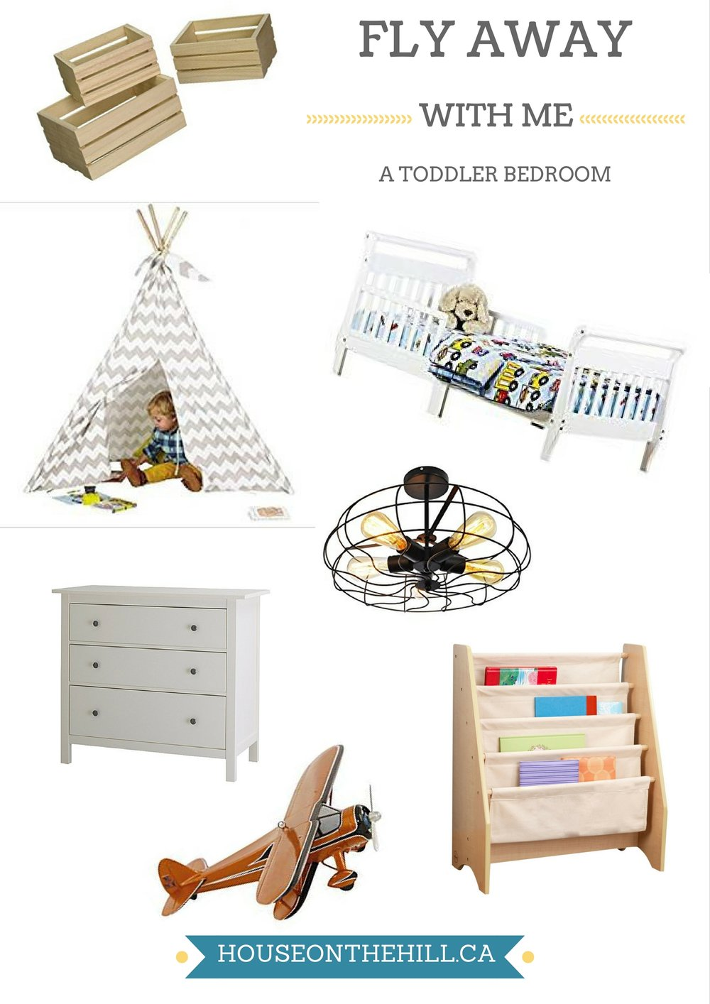 Toddler Bedroom Mood Board