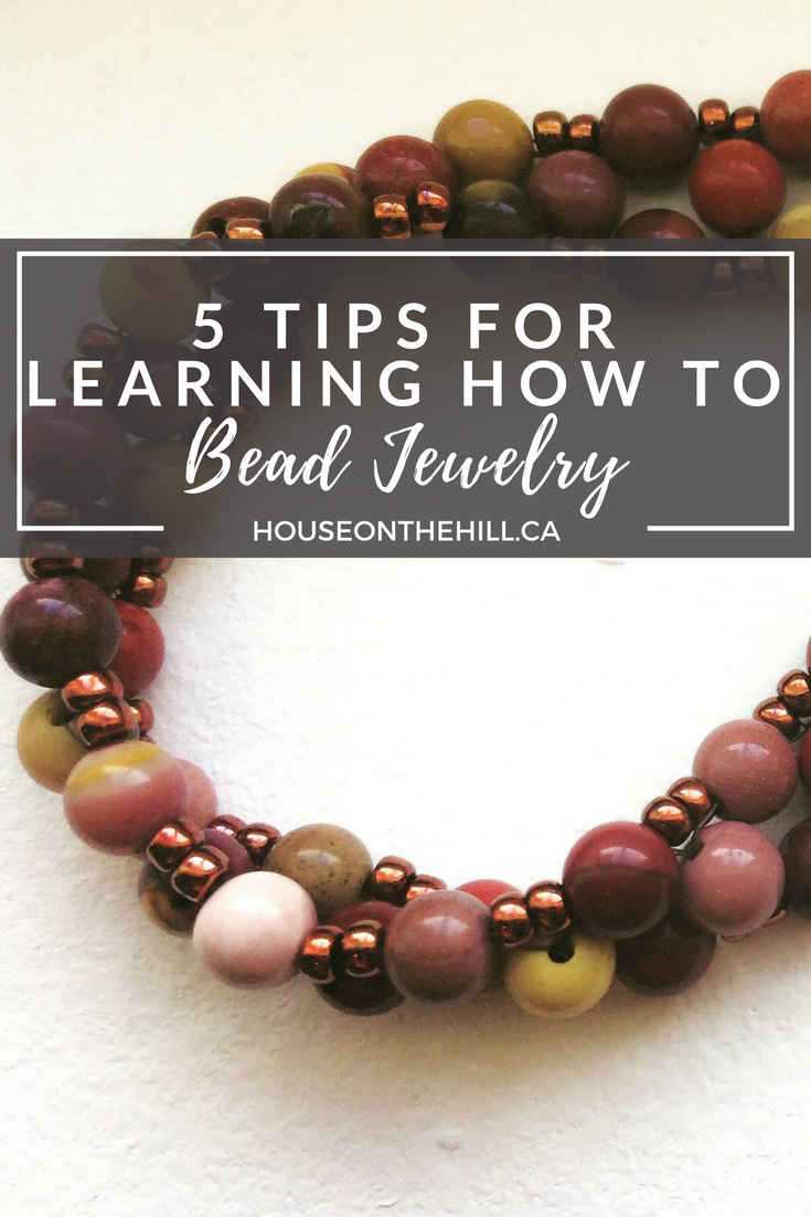 5 Tips for Learning How to DIY Beaded Jewelry. Documenting the first experience of crafting a beaded bracelet using the right angle weave technique. Link to step-by-step instructions on how to craft your own beaded bracelet, as well as tips on what to be aware of as a DIY jewelry novice. Includes a list of where you can look for jewelry beading workshops in the Greater Toronto Area.