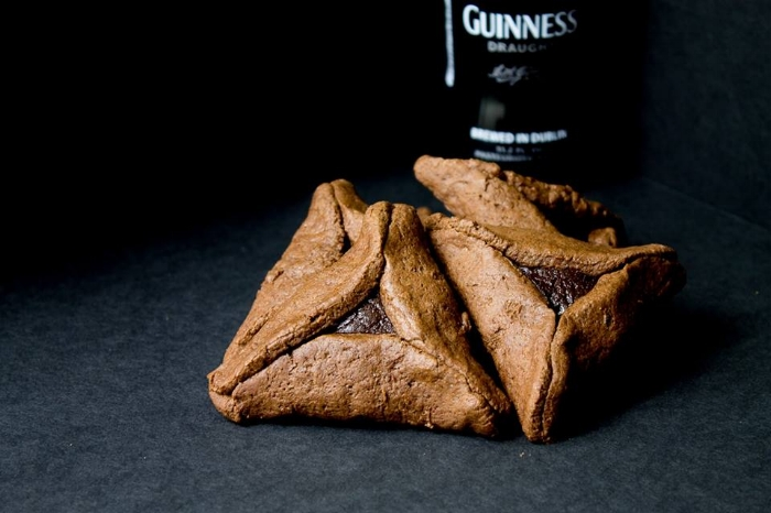 Chocolate Stout Hamantaschen