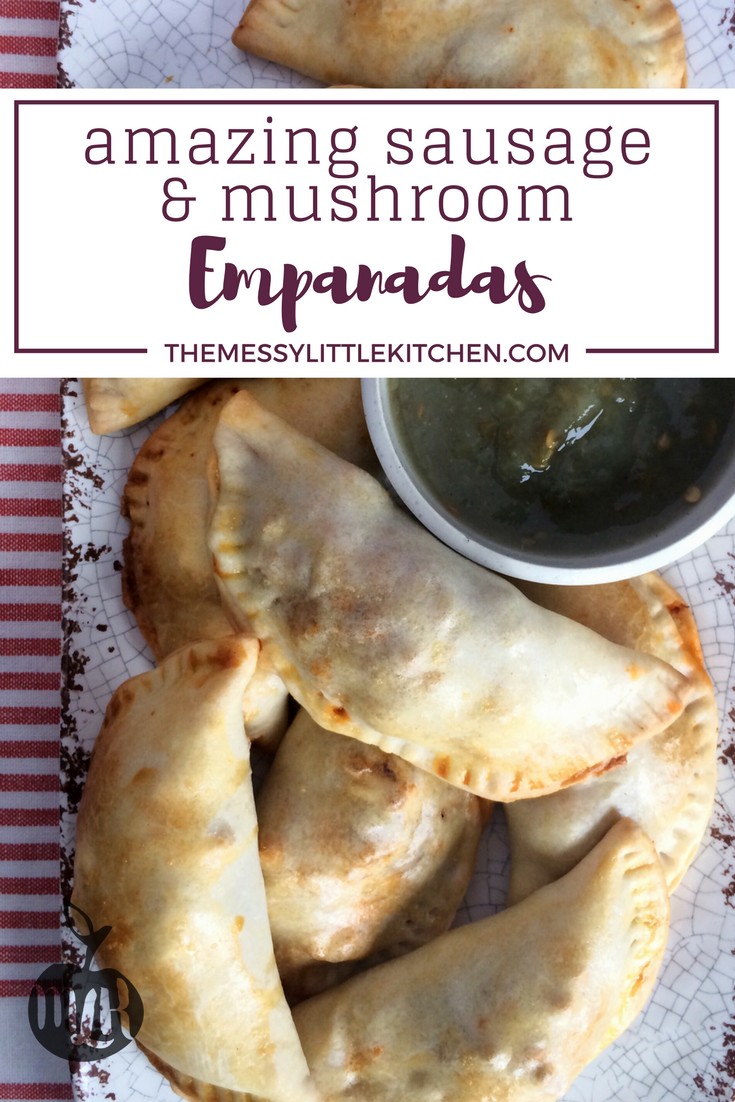 Amazing Sausage and Mushroom Empanada Appetizer Recipe