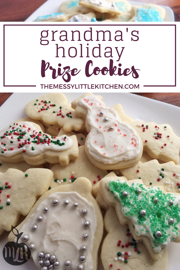 Grandma's Holiday Prize Cookies Recipes