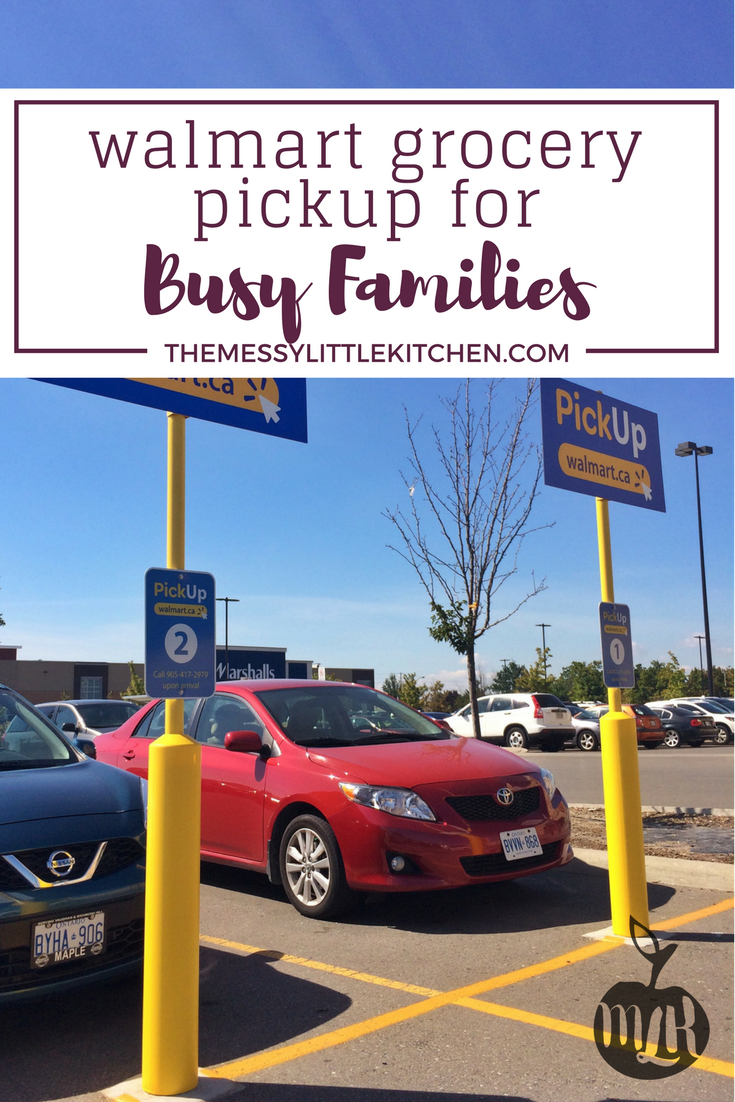 Walmart Canada Grocery Pick-up Service: A Review of the Walmart Grocery Pick-Up Service for Busy Families (not sponsored).
