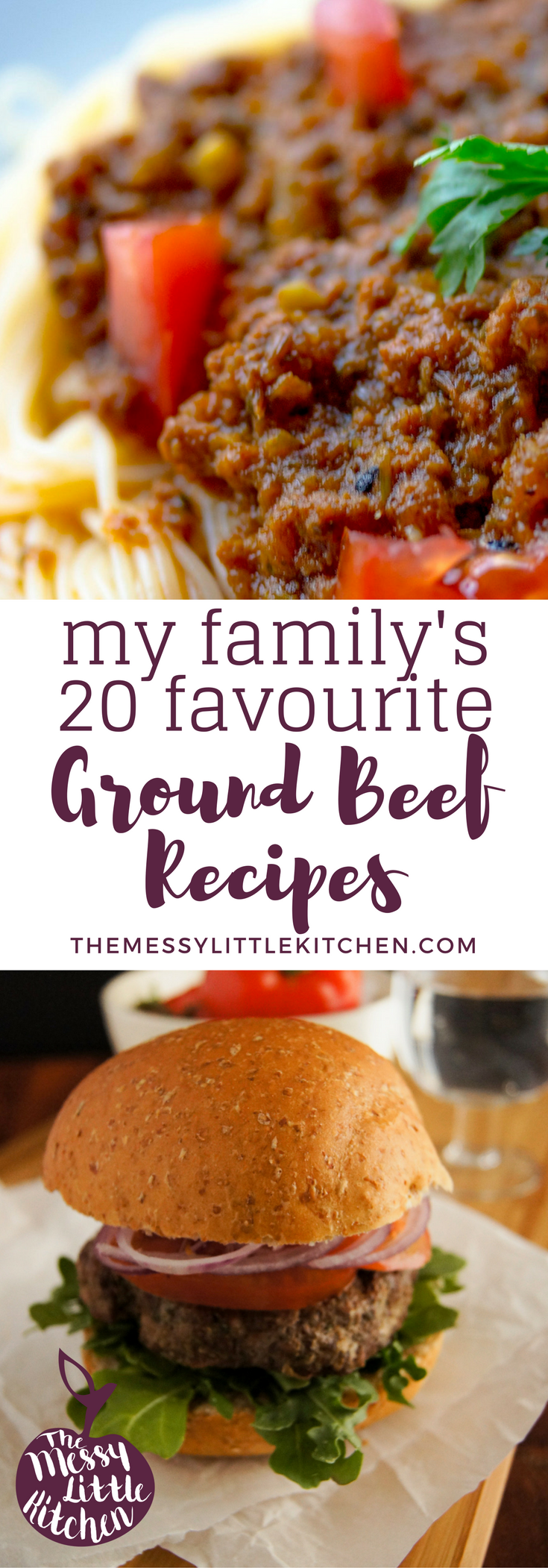 My Family's 15 Favorite Delicious & Easy Ground Beef Recipe