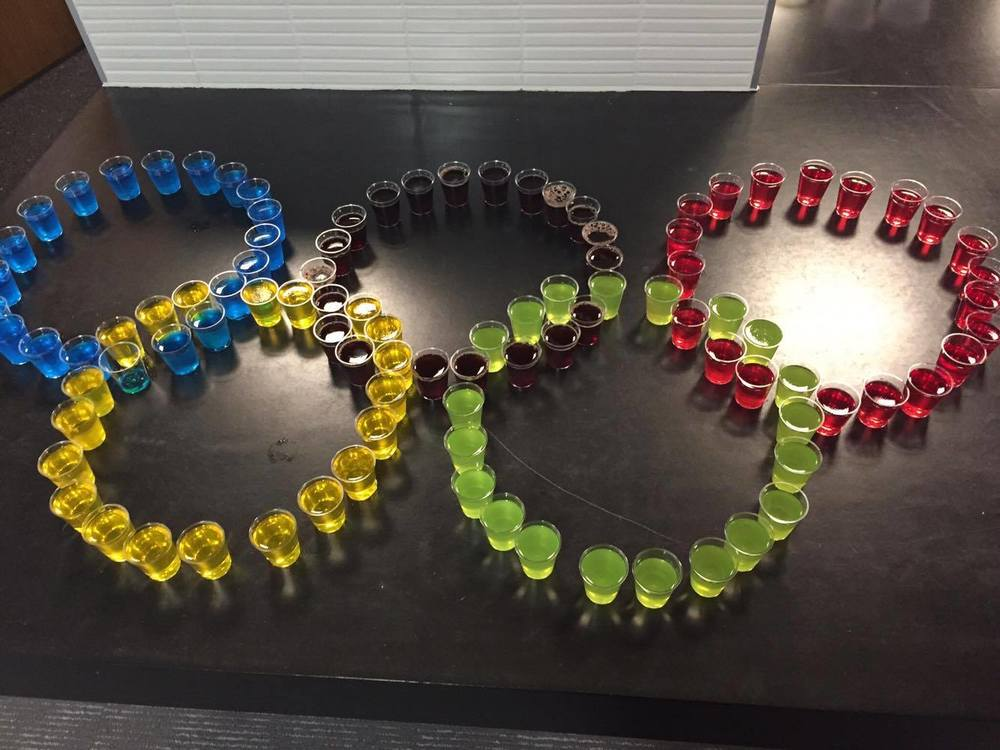Office Olympics Jello Shots