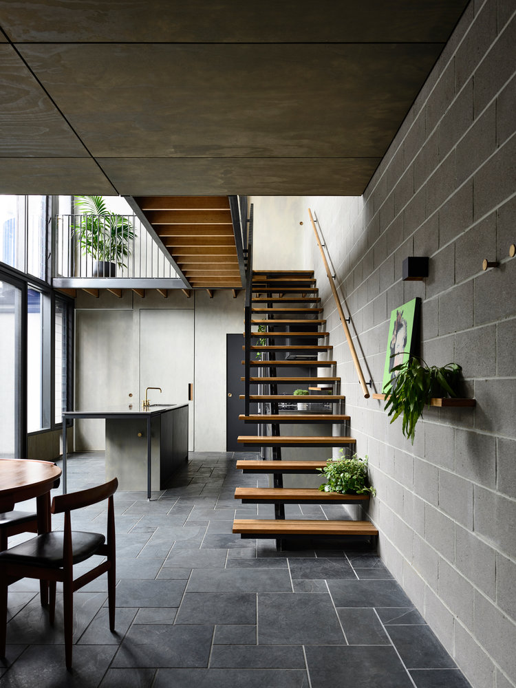 Small Local Upstair Apartment Architecture Design