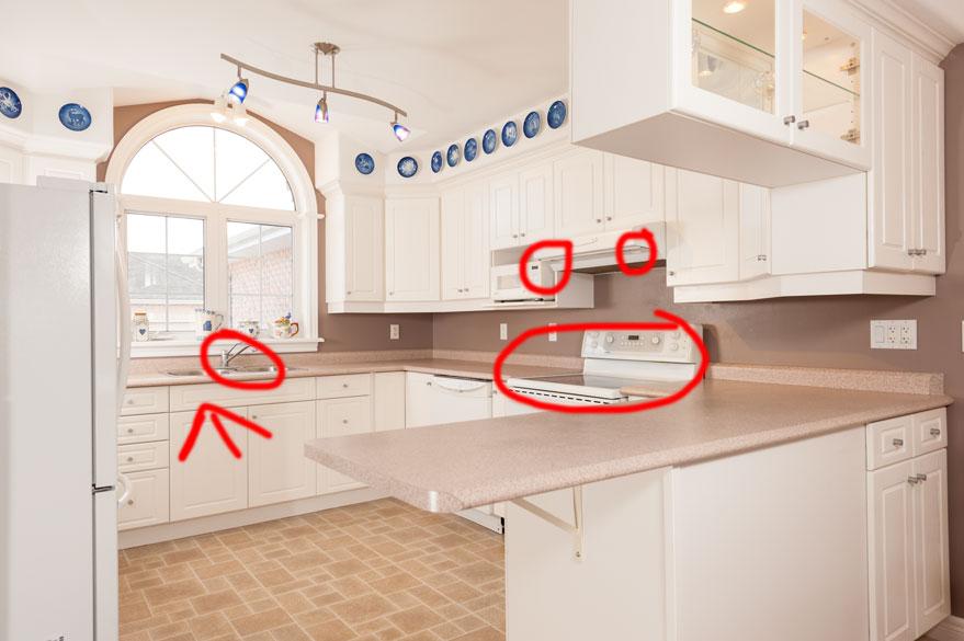 professional photographer interior real estate photo